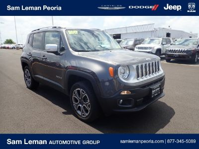 2017 Jeep Renegade Limited (Crystal Metallic)