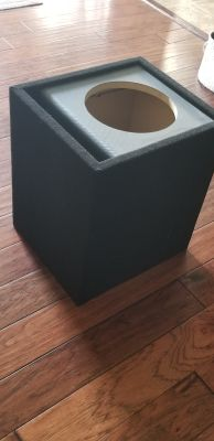 "Two 10"" Subwoofer Boxes"