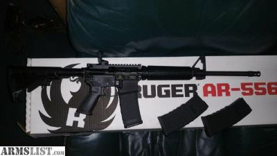 For Sale/Trade: Ruger ar 15 for mak 90 or other nice ak 47