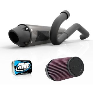 Buy HMF Honda TRX 450R 2006 Full Blackout Exhaust Muffler + Jet Kit + K&N motorcycle in Berea, Ohio, United States, for US $654.45