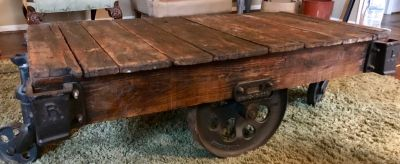 Vintage Railroad Cart