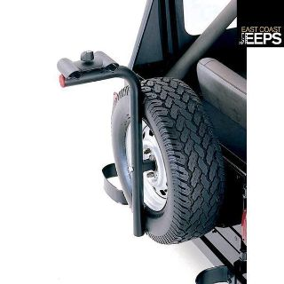 Purchase 11237.10 RUGGED RIDGE Spare Tire Bike Rack Carrier, by Rugged Ridge motorcycle in Smyrna, Georgia, US, for US $144.22