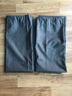 Two Blackout Curtain Panels 42x84