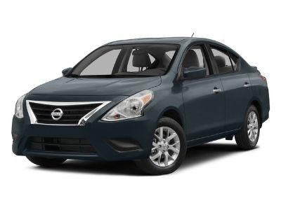 2015 Nissan Versa 1.6 S (Brilliant Silver)
