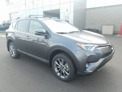 2018 Toyota RAV4 Hybrid Limited AWD (MAGNETIC GRAY METALLIC)