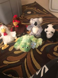 Webkinz $10 all. 3 with unused code