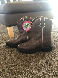 Justin Boots (Never Worn)