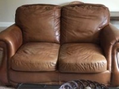 leather sofa two seat