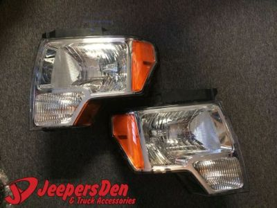 Buy Ford F-150 2010 Headlights 9l34-13005-B & 9l34-13006-B motorcycle in Orlando, Florida, United States, for US $300.00