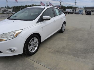2012 Ford Focus SEL (WHI)