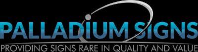 Palladium Signs
