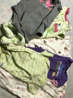 Baby girl clothes, assorted lot