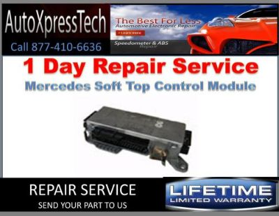 Sell 1997 Mercedes Soft Top Controller Repair Service motorcycle in Holbrook, Massachusetts, United States, for US $219.00