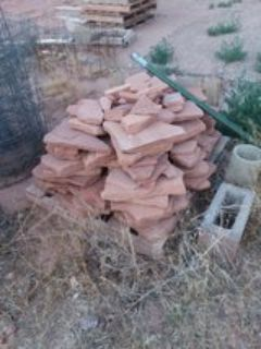 pallet of flagstone