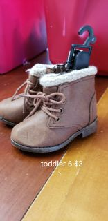 Toddler 6 brand new boots