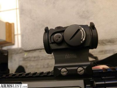 For Sale: Aimpoint H1 2moa w/ TD cover in DD lower 1/3 mount