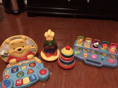 Baby toys- Winnie the Pooh vtech laptop