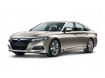 2018 Honda Accord LX (Champagne Frost Pearl)