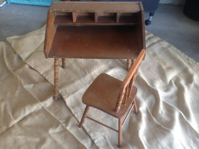 Child's desk/chair ~40 years old (NS home)
