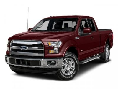 2015 Ford F-150 Lariat (White Platinum Metallic Tri-Coat)