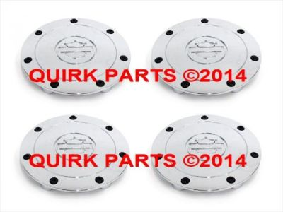 Purchase 2001-2003 Ford F-150 Harley Davidson Chrome Wheel Cover Center Caps Set OEM NEW motorcycle in Braintree, Massachusetts, United States, for US $219.88