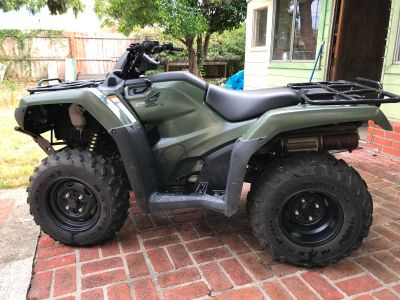 2016 Honda FOURTRAX RANCHER 4X4 DCT