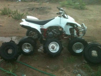2004 yfz 450 four wheeler