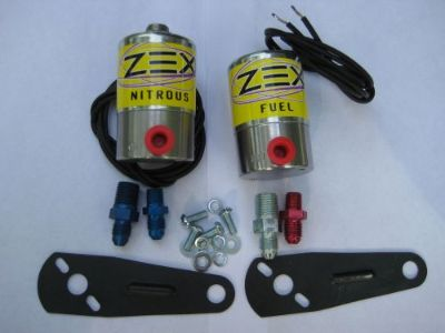 Sell NOS/NITROUS/NX/FORD/CHEVY/DODGE/HOLLEY/ ZEX PRO NITROUS+FUEL SOLENOID KIT 250HP! motorcycle in North Attleboro, Massachusetts, United States, for US $139.98