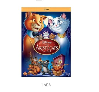 Looking for DVD of Disney Aristocrats