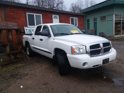2007 DODGE DAKOTA (PA TRUCK), 74K MILES, NEW TIRES, 2ND CAB, COVER FOR BED, $6700