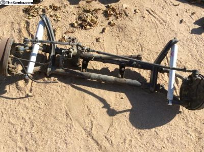 Ball joint front suspension, complete