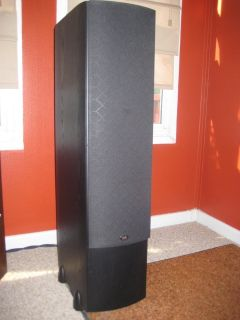 PSB stereo speakers.