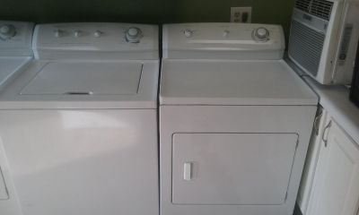 Frigidaire matching washer and dryer