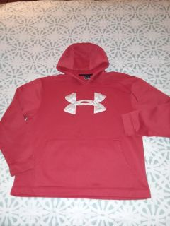 Men's xl under Armour hoodie has some small marks but still nice