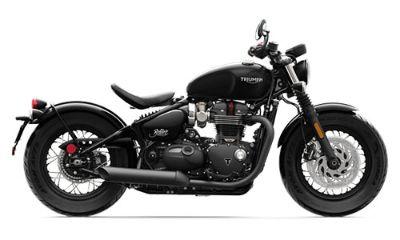 2018 Triumph Bonneville Bobber Black Cruiser Motorcycles Mahwah, NJ