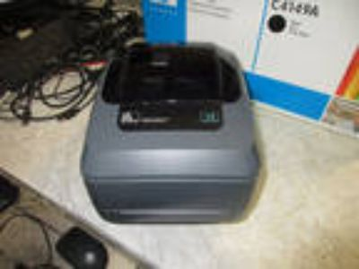 Zebra GX430t USB Thermal Barcode Printer GX43-102510-000 NO