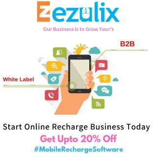 Get up to 20% Discount on Mobile Recharge Software