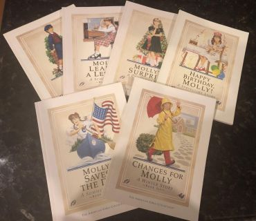 First Edition American Girl books: Molly