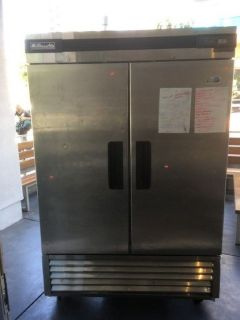 Blue Air BSF49 S/S 2 Door Reach-In Freezer RTR# 8081351-08