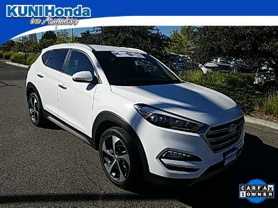 2017 Hyundai Tucson Limited (Winter White)
