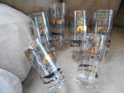 Set of 6 - 12 oz. Glasses - NEW