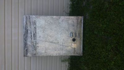 Sell 53 Gallon Aluminum Fuel tank Gas, Diesel 46 x 32 x 11 x 9 No leaks No corrosion motorcycle in North Port, Florida, United States, for US $99.00