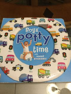 VGUC! Board Book! DK! Boys Potty time Children s Book! No Stickers! NS Meet AB Park or PPU