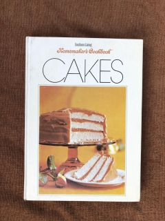 Southern Living Homemakers Cookbook: Cakes by Lena E. Sturges Hardcover 1971