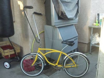 vintage Schwinn boys beach cruiser