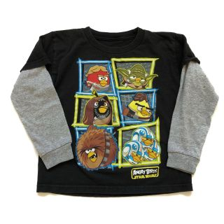 S/4 Angry Birds Star Wars T-Shirt