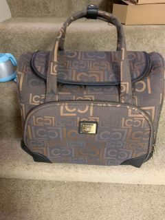 Liz Claiborne Roller Carry On Bag with handle