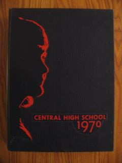 Central high School 1970 Yearbook