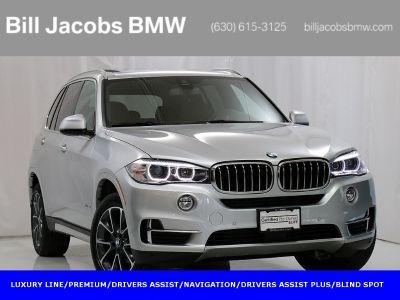 2018 BMW X5 xDrive35i (Glacier Silver Metallic)