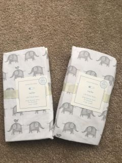 Pottery barn fitted crib sheets